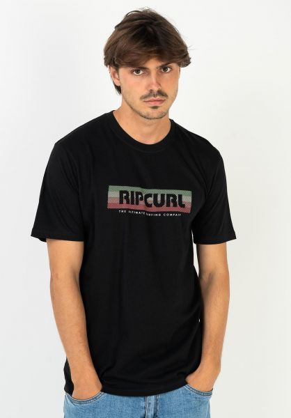 Rip Curl T-Shirts El Mama black vorderansicht 0322295