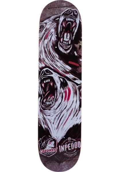 Inpeddo Skateboard Decks x CrashKids multicolored vorderansicht 0262883