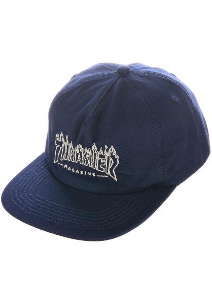 Thrasher Caps Drunk Witch navy vorderansicht 0567177