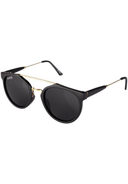 Zunny Sonnenbrillen Modern Cäptn black-gold-black Vorderansicht 0590562