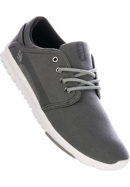 etnies Alle Schuhe Scout grey-silver vorderansicht 0603390