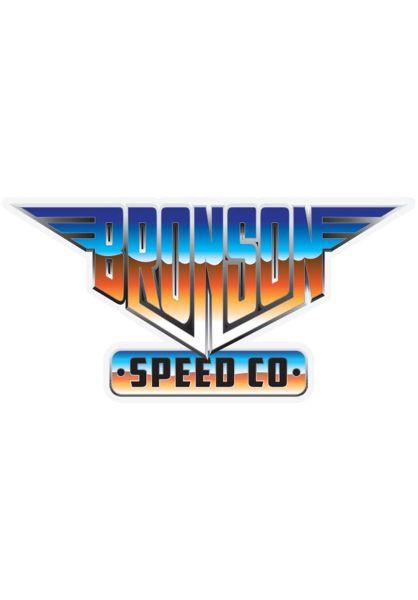 """Bronson Speed Co. Verschiedenes Heavy Metal 4,5"""" blue-orange vorderansicht 0972371"""