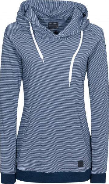 Forvert Hoodies Hilgi Girls blue-white Vorderansicht