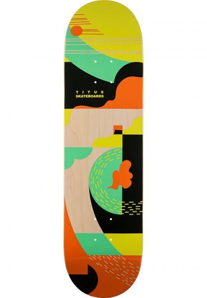 TITUS Skateboard Decks Blower T-Fiber Light green vorderansicht 0264796