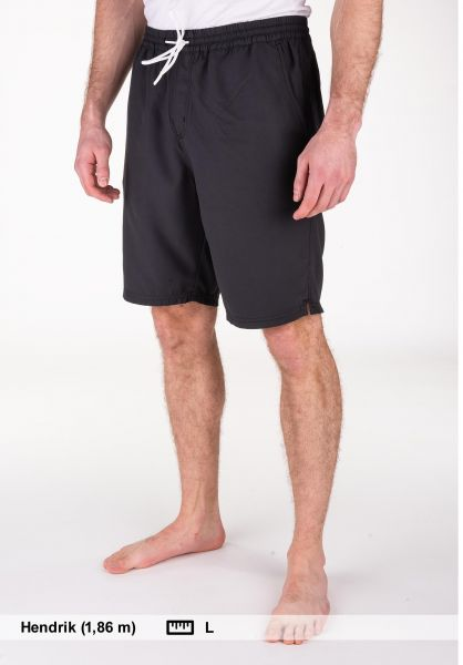 Cleptomanicx Chinoshorts Magic Regular phantomblack vorderansicht 0281006