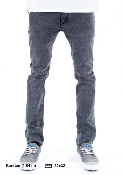 Reell Jeans Skin colored-grey Vorderansicht