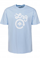 LRG T-Shirts Cycle Logo powderblue Vorderansicht