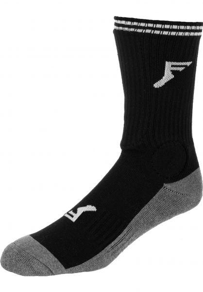 Footprint Insoles Socken Painkiller Crew Shin black Vorderansicht