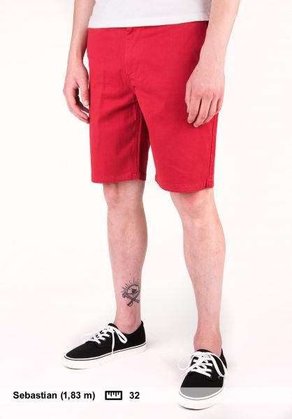 Light Chinoshorts Jay cranberry Vorderansicht