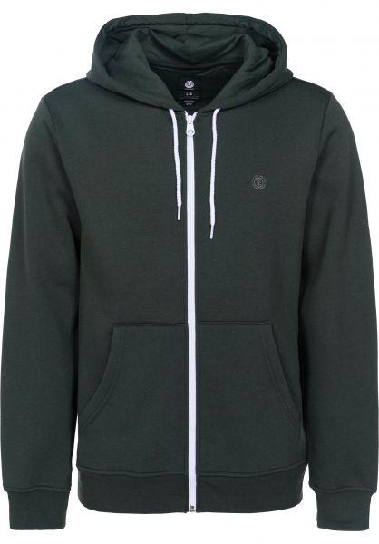 Element Zip-Hoodies Cornell darkspruce vorderansicht 0454129