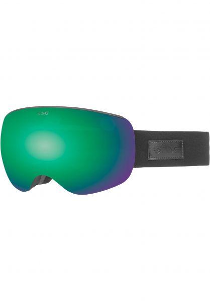 TSG Snowboard-Brille Goggle Three blackout vorderansicht 0340136