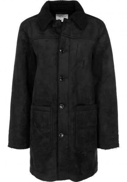 Carhartt WIP Parkas und Mäntel W' Stone Coat black vorderansicht 0230493