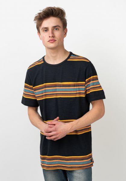 Roark T-Shirts Malam Knit navy vorderansicht 0322110