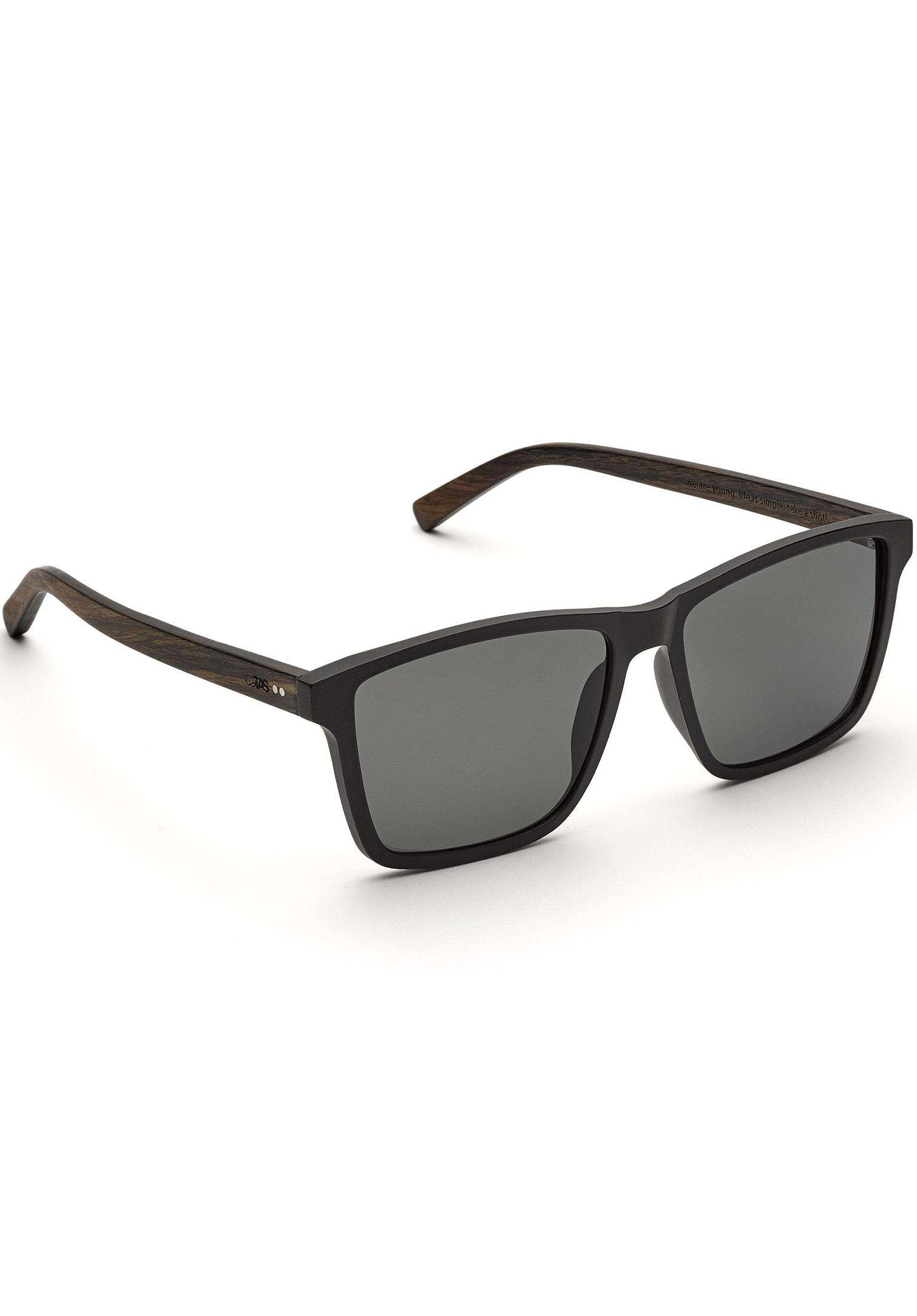 206f15d72006 Tomte Walnuss TAS Take a Shot Sonnenbrillen in black für Herren | Titus