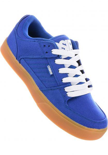 Osiris Alle Schuhe Protocol blue-white-gum Vorderansicht
