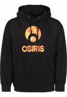 Osiris Hoodies Corporate black-firestorm Vorderansicht