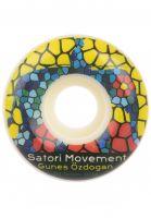 satori-rollen-gunes-oezdogan-stained-glass-conical-shape-101a-white-vorderansicht-0135322