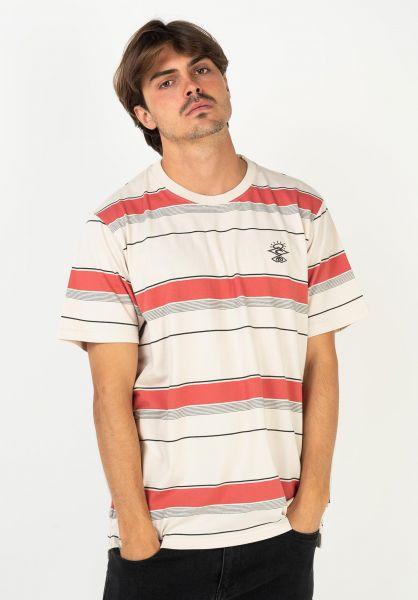 Rip Curl T-Shirts Searchers Nomad bone vorderansicht 0322298