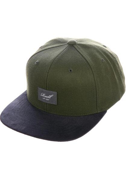 Reell Caps Freedom darkgreen vorderansicht 0566411
