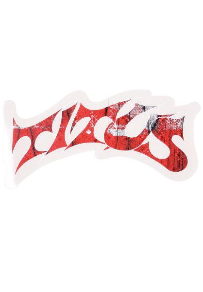 TITUS Verschiedenes Schranz Sticker white-red vorderansicht 0170400