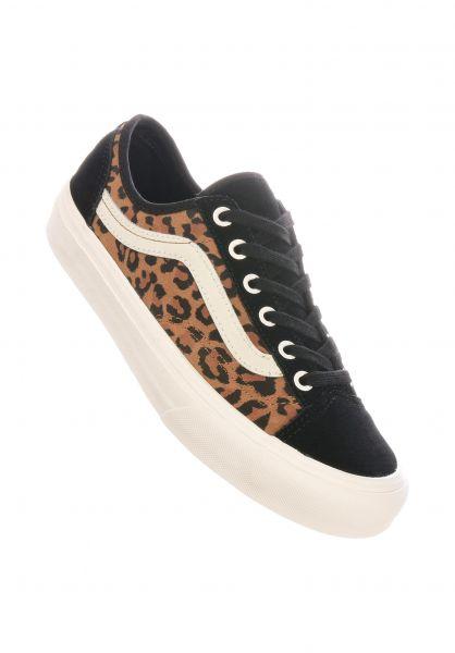 Vans Alle Schuhe Style 36 Decon SF suedeleopard-chipmunk-marshmallow vorderansicht 0612589