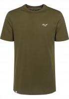 Reell-T-Shirts-Small-Script-olive-Vorderansicht
