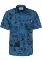Carhartt WIP Hemden kurzarm Safari safariprint-deepwater Vorderansicht
