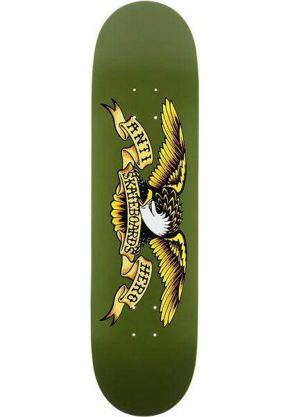 Anti-Hero Skateboard Decks Classic Eagle green vorderansicht 0118797