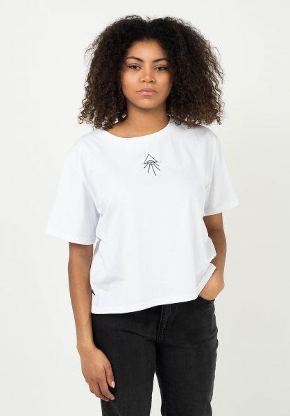 TITUS T-Shirts Elly white vorderansicht 0321950