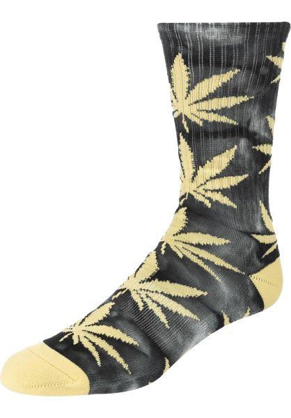 HUF Socken Plantlife Tiedye black vorderansicht 0631990