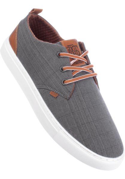 Djinns Alle Schuhe LowLau Glencheck 2.0 grey vorderansicht 0603790