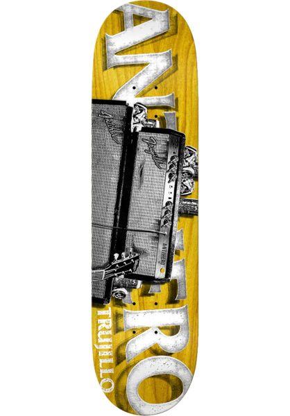 Anti-Hero Skateboard Decks Trujillo Turned Up multicolored vorderansicht 0263640