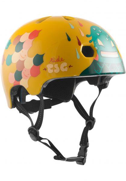 TSG Helme Meta Graphic Design happy leaves vorderansicht 0750124