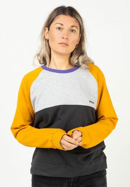 Dedicated Sweatshirts und Pullover Split goldenyellow vorderansicht 0422985