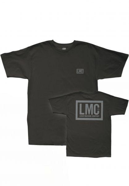 Loser-Machine T-Shirts Hardline black vorderansicht 0396582