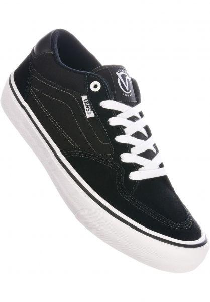 Vans Alle Schuhe Rowan Pro black-white vorderansicht 0604757