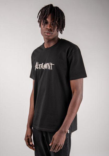 Altamont T-Shirts One Liner black vorderansicht 0383223