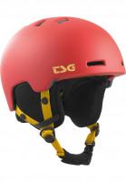 TSG Snowboardhelme Arctic Nipper Mini Solid Color II satin rosso Vorderansicht