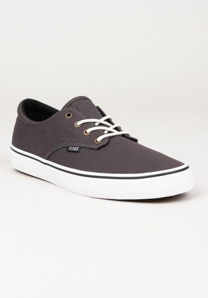 TITUS Alle Schuhe Clubman darkgrey-chambray-white vorderansicht 0604300