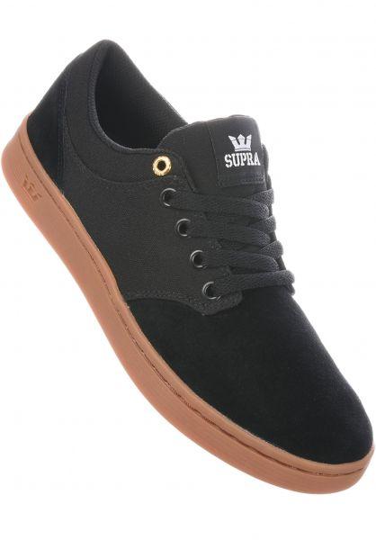 a7f06ee8000a Supra Alle Schuhe Chino Court black-gum Vorderansicht