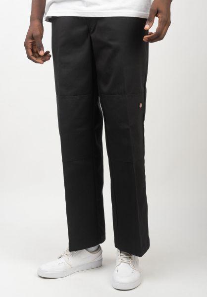 Dickies Chinos und Stoffhosen Double Knee Work Pant black vorderansicht 0204120