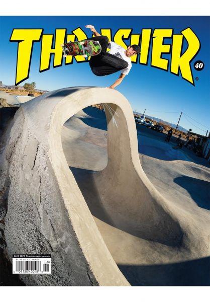 Thrasher Verschiedenes Magazine Issues 2021 August vorderansicht 0972704