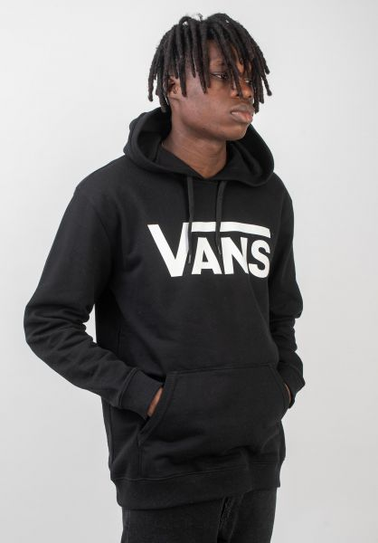 Vans Hoodies Classic black-white vorderansicht 0441791