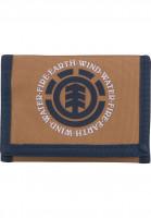 Element Portemonnaie Elemental broncobrown Vorderansicht