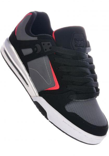 Osiris Alle Schuhe PXL black-red-black vorderansicht 0603978