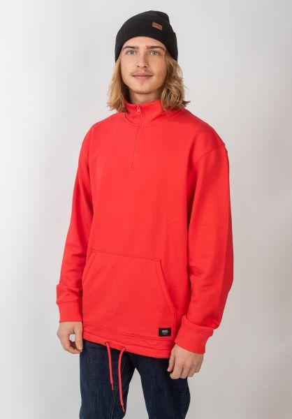 Versa QZP DX Vans Sweaters and Sweatshirts in hibiscus for Men | Titus