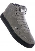 Djinns Alle Schuhe Highwaik Fur grey-black vorderansicht 0604493