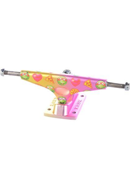 Krux Achsen 8.00  Krome Matte TMNT Emoji gold-pink vorderansicht 0122430