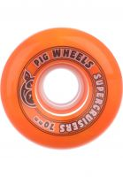 Pig Rollen Supercruiser Swirl 85A orange-yellow Vorderansicht