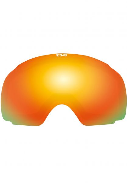 TSG Snowboard-Brille Replacement Lens Goggle Two red-chrome Vorderansicht 0340125